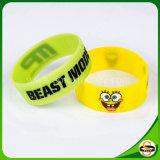 Wristband su ordinazione del silicone di qualità dei braccialetti eccellenti del silicone per i capretti