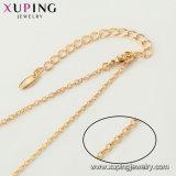 44520 Joyería de moda collar de la Serpiente chapado en oro.