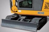 Excavatrice de chenille de XCMG Xe40 4ton