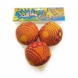 Juguete del juego del deporte para el agua o la playa, bomba 3balls de la esponja