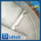 Vleugelklep van de Ventilatie van de Grootte van Didtek de Grote Met Elektrische Actuator