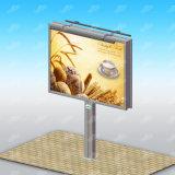El bastidor de metal de la estructura de vallas de publicidad Display Banner