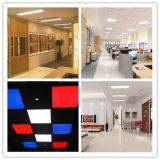 illuminazione architettonica sottile quadrata approvata dell'indicatore luminoso di comitato dei piedi ETL/Dlc 110lm/W LED di 19With40With80W 2X2/1X3/2X4