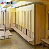 Garderobe 2 van het Ontwerp van China de Kast van de School van de Opslag van de Gymnastiek van Deuren