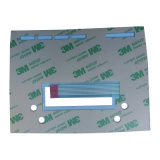 Impressão em circuito gravado Interruptor de membrana de teclado de sobreposição CNC