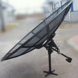 3,7 m 370cm Plat en aluminium de plein air Numérique Mesh antenne parabolique de télévision ALE