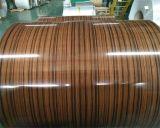 Grano de madera de alta calidad de la bobina de aluminio ACP