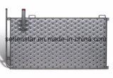 Économies d'énergie soudées au laser La plaque de l'échangeur de l'encoche de la plaque plaque d'oreiller