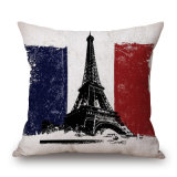 DIGITAL Printed World' S Famous Building Cushion Cover (35C0251)
