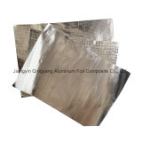 Folha de alumínio Burning-Resistant tecido tecido de fibra de vidro