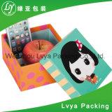 Caixa de papel de empacotamento do presente do cartão de Apple do Natal