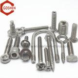 A manufatura fornece os parafusos do aço inoxidável