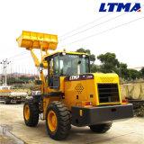 Трактор фермы тонны 4WD цены по прейскуранту завода-изготовителя 3 с передним затяжелителем