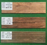 Telhas cerâmicas naturais de madeira do projeto novo