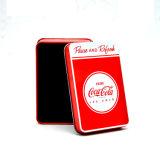 The Cocacola Latas de Design para Pokers e Pacote de Cartões de Nome
