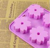 Forme de fleur de silicone de qualité alimentaire moule Soap