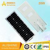 5W-120W réverbère solaire extérieur actionné solaire de la lampe DEL complet