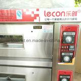 Ökonomische elektrische 3 Schichten 6 Tellersegment-Pizza-Ofen-