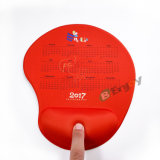 Promotional Custom Printed Wrist Rest Foams Pad with Silicone Freezing