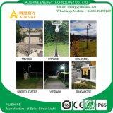 9W/12W/18W de iluminación LED solares de Jardín de la luz de la calle