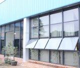 Baixa seção de parede de vidro reflexiva configurada arquitectónica da cortina de E