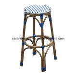 등나무 가구 쌓을수 있는 무방비 작은 술집 등나무 옥외 의자