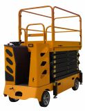 500kg 9m 의 11m 12m 자동적인 전기는 Qzyg100-32를 가진 상승을 가위로 자른다