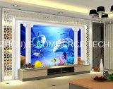 панель PVC печатание 3D для стены предпосылки
