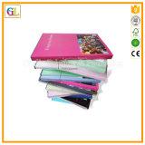 Компания печатание на книге A4 цвета Softcover