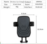 Newest 10W Fast Qi chargeur sans fil Support voiture
