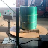 Riesiges RollenplastikStrappingmachine waagerecht ausgerichtete Haustier-Brücke 335kg pro Rolle
