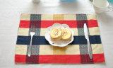 100%年の綿の食糧マットの格子アメリカデザインタオル