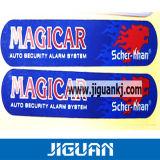 Etiqueta engomada de encargo impresa reflexiva adhesiva barata del coche de la alta calidad