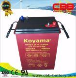 Solardruckspeicher-tiefe Schleife-Solargel-Batterie Dcg420-6