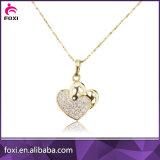 심혼 모양 디자인 다이아몬드 지르코니아 보석 세트