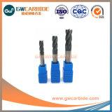 carboneto de tungsténio 4 flautas plana e extremidade quadrada Mills