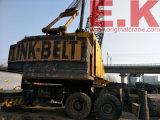 Gru giapponese del camion dell'asta della grata della Collegamento-Cinghia 136ton (HC238SS)