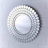 Nuevo diseño de forma redonda de Decoracion espejo de pared