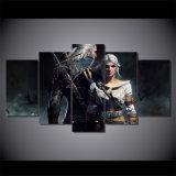 HD напечатало Witcher Geralt и картину Ciri на холстине изображения плаката печати украшения комнаты холстины