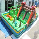 Дети весело коммерческих надувной игровой площадкой Playgland казино парк развлечений