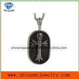 De dwars Levering voor doorverkoop van de Juwelen van de Tegenhanger van het Staal van Titanum van de Tegenhanger van de Halsband Croisman (SPT6278)
