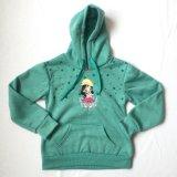 Estilo deporte de invierno Bastic Hoodie traje de vestir para niñas
