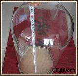 Vidrio de borosilicato de diámetro grande campana de vidrio sin asa Proveedor