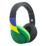 Cancelamento de ruído activo a granel Wireless Bluetooth para fones de ouvido estéreo de orelha com slot para cartão TF