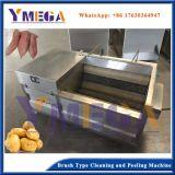 La pomme de terre/sweet potato/Carottes nettoyage Machine à laver et peler avec rouleaux à brosses