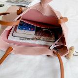 연약한 PU 쇼핑 백 바느질 여자 끈달린 가방 (TTE-009)