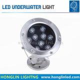 조경 9W 수영풀 수중 램프 /LED 옥외 수영장 Light