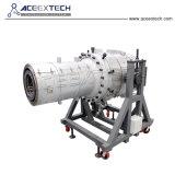 Belüftung-Rohr-Extruder-Maschine/konischer Doppelschraubenzieher