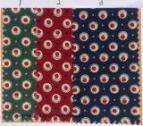 Tela da gravata do teste padrão de pontos da impressão do algodão