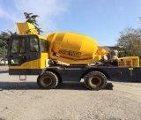 De zelf Vervaardiging van de Concrete Mixer van het Cement van de Vrachtwagen van de Lading Mini